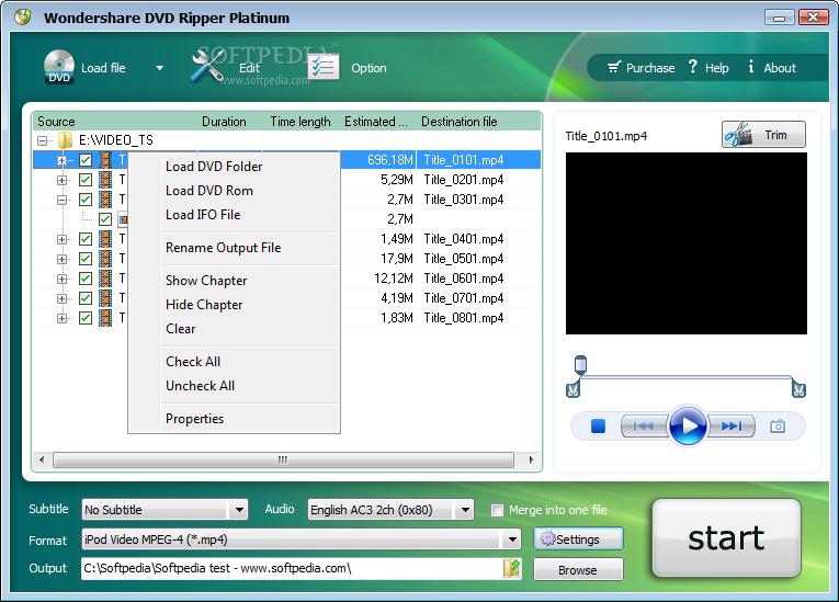 Wondershare DVD Ripper Platinum download free