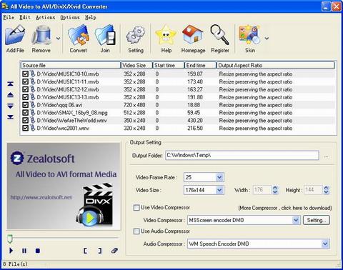 All video to avi divx xvid converter 1. 7. 5 (free) download.